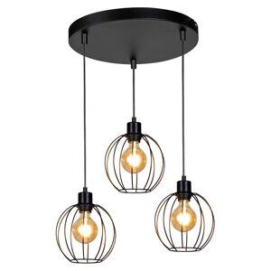 BRITOP Závesná lampa Kaysie, 3-plameňová, ako rondel