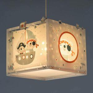 Dalber Závesná lampa do detskej izby Pirates