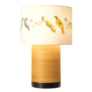 Domus Stolná lampa Klippa XL čierna Birdsong