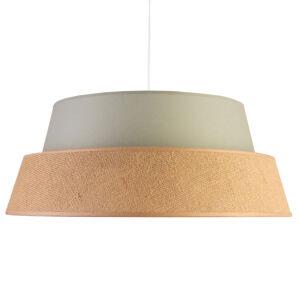 DUOLLA Závesná lampa Galaxy Soft Nature, sivá/hnedá