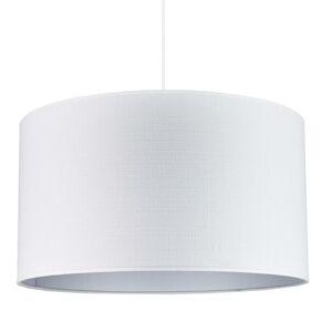 DUOLLA Závesná lampa Canvas, biela