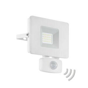 EGLO LED reflektor vonkajší Faedo 3, snímač, biely, 20W