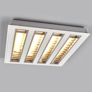 EGG Rastrové vkladacie LED svetlo štyri mriežky 3000K