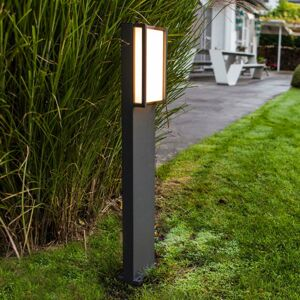 Eco-Light Qubo – chodníkové LED svietidlo, priamočiary tvar
