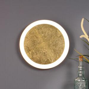 Eco-Light Stropné LED svietidlo Moon Ø 40cm, zlaté