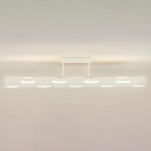Eco-Light Stropné LED svietidlo Wave, biele