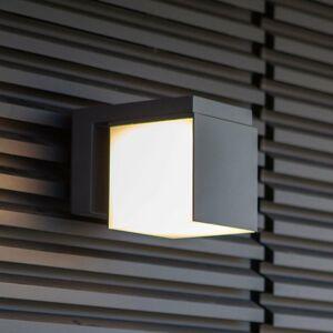Eco-Light LED nástenná lampa Cuba, jedno svetlo/otočná hlava