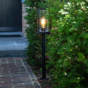 Eco-Light Chodníková lampa Flair s dvojitým tienidlom