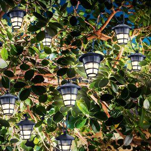 Esotec Solárna svetelná LED reťaz Asia Style