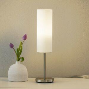 EGLO Stolná lampa Troy, biele
