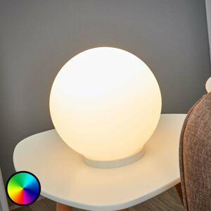 EGLO Guľová stolná lampa Rondo-C LED RGBW