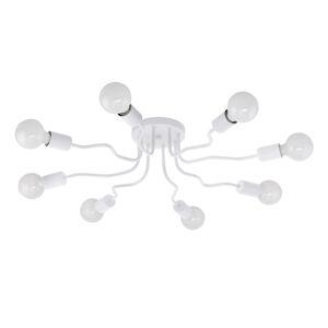 EGLO Stropné svietidlo Orazio biele, osem svetiel