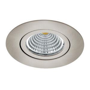 EGLO Zapustené LED Saliceto okrúhle otočné 2700K nikel