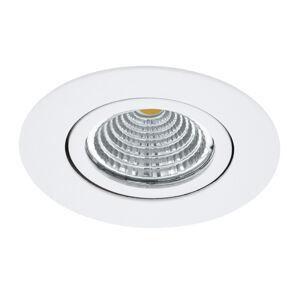 EGLO Zapustené LED Saliceto okrúhle otočné 4000K biela