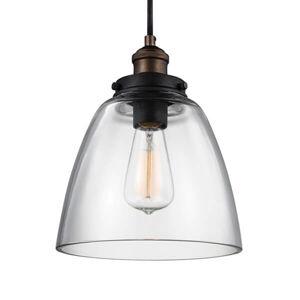 FEISS Závesná lampa Baskin B starožitná mosadz zinok