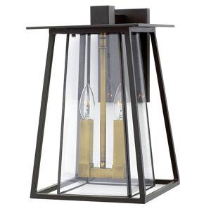 HINKLEY Jasne štruktúrované nástenné svietidlo Walker