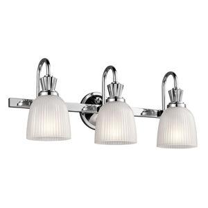 KICHLER Kúpeľňové nástenné LED svietidlo Cora 3-plameňové
