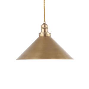 Elstead Závesná lampa Provence, starožitná mosadz