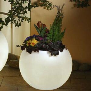 Epstein Svietiaci kvetináč, najvyššia kvalita, biela 50