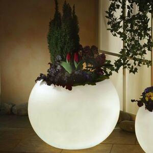 Epstein Svietiaci kvetináč, najvyššia kvalita, biela 65