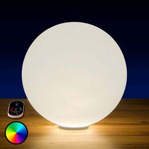Epstein Sun Shine RGB svietiaca LED guľa s batériou 20cm