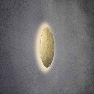 Escale Escale Blade nástenné LED, lístkové zlato, Ø 44cm