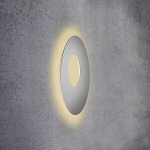 Escale Escale Blade Open nástenné LED striebro, Ø 59cm