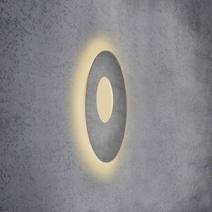Escale Escale Blade Open nástenné LED, betón, Ø 59cm
