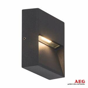 AEG AEG Front – hranaté vonkajšie LED svietidlo