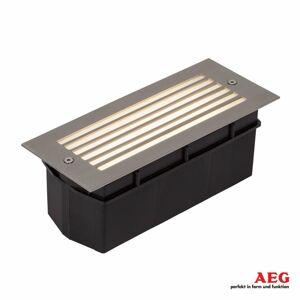 AEG AEG Wall zapustené LED svetlo vonkajšie s rastrom