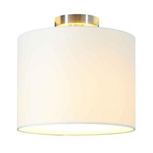 Lucande Lucande Patrik stropná lampa textilná Ø30 cm