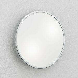 Fabas Luce Stropné a nástenné svietidlo Plaza 31cm, chrómové