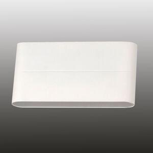 Fabas Luce Vonkajšie nástenné LED svietidlo Casper, biele
