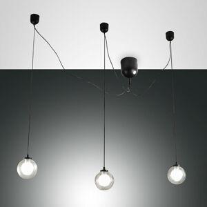 Fabas Luce Závesné LED svietidlo Blog, 3-plameňové