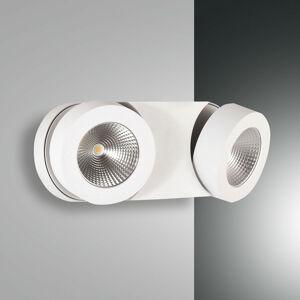 Fabas Luce Stmievateľné nástenné LED svietidlo Hella 2 bodové