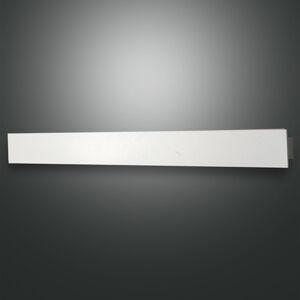 Fabas Luce Nástenné LED svietidlo Lotus, biele, 93cm dlhé