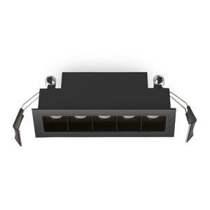 ATILED Zapustené LED svietidlo Sound 5 30° s rámom čierne