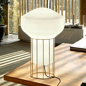 Fabbian Fabbian Aérostat – mosadzná stolná lampa 33 cm