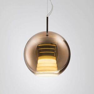 Fabbian Fabbian Beluga Royal závesná LED lampa meď 30cm