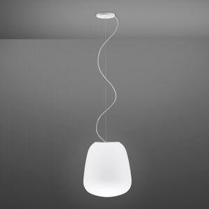 Fabbian Fabbian Lumi Baka sklenená závesná lampa Ø 33cm