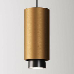 Fabbian Fabbian Claque LED závesné svietidlo 20cm bronz
