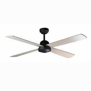 FARO BARCELONA Moderný stropný ventilátor IBIZA diaľkové, hnedé