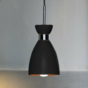 FARO BARCELONA Závesná lampa Retro, čierna