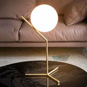 FLOS FLOS IC T1 High – stolná lampa, brúsená mosadz
