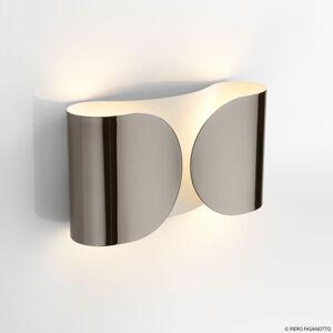 FLOS FLOS Foglio nástenná lampa, čierny nikel