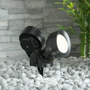 Fumagalli Tommy-EL LED s hrotom do zeme čierne 10W 2-pl.