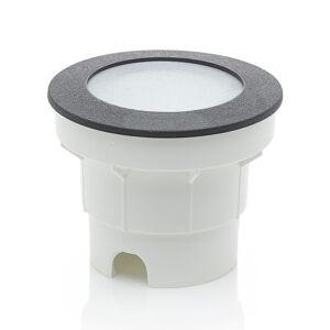 Fumagalli LED podlahový reflektor Ceci 120 čierne CCT