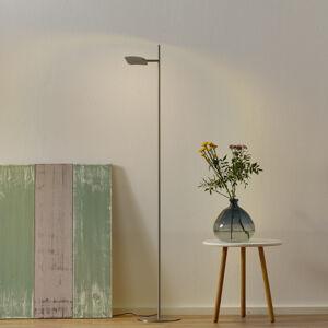 Freelight Stojaca LED lampa Raggio, 1-plameňová, oceľ