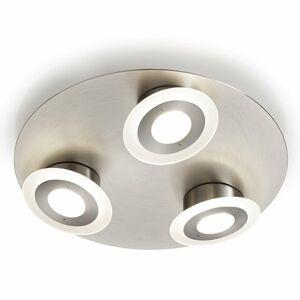 Knapstein Troj-plameňové stropné LED svietidlo Alida