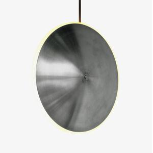Graypants Závesné LED svietidlo Chrona Dish10v oceľ